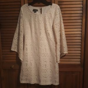 Lacy Cream Dress